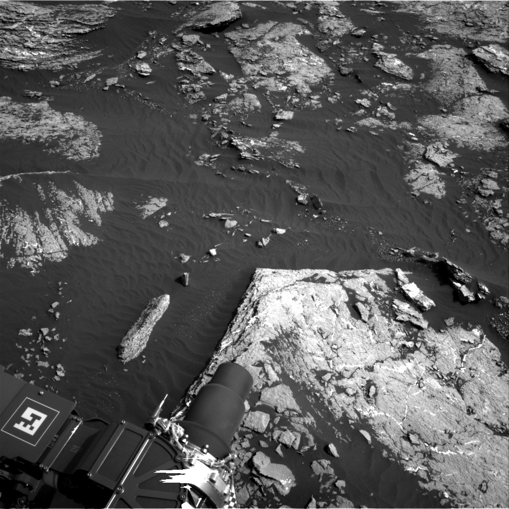 NASA's Mars rover Curiosity acquired this image using its Right Navigation Cameras (Navcams) on Sol 1662