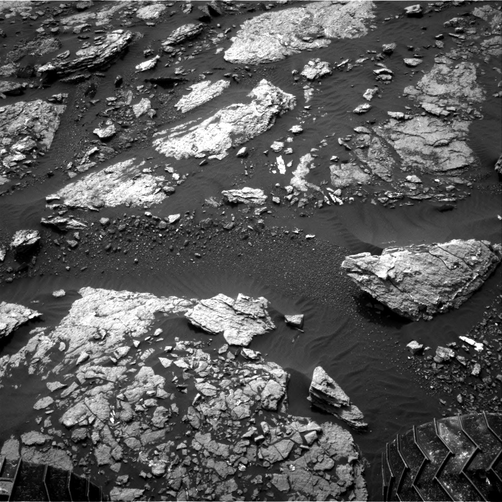 Nasa's Mars rover Curiosity acquired this image using its Right Navigation Camera on Sol 1662, at drive 660, site number 62
