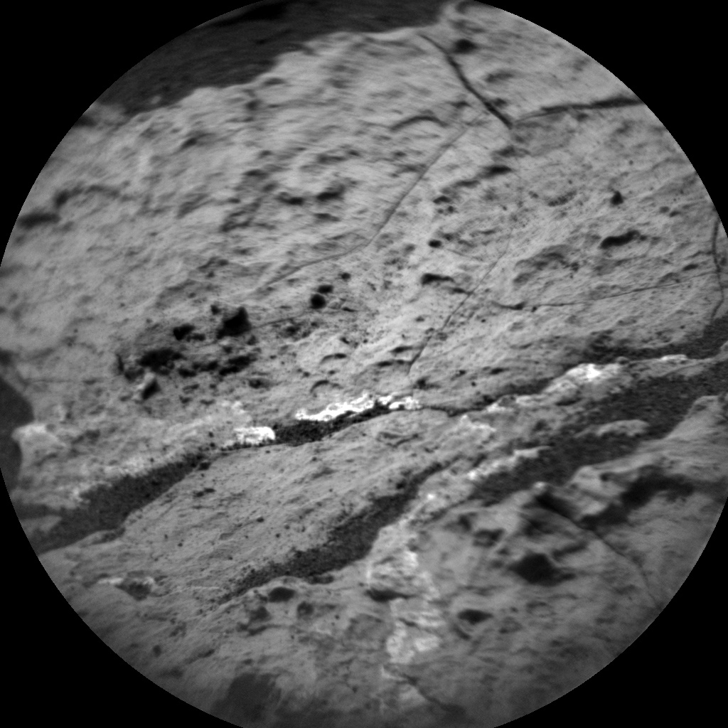 NASA's Mars rover Curiosity acquired this image using its Chemistry & Camera (ChemCam) on Sol 1662