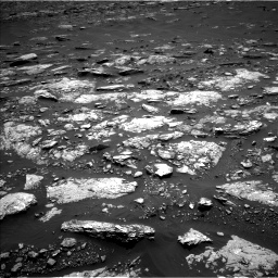 Nasa's Mars rover Curiosity acquired this image using its Left Navigation Camera on Sol 1664, at drive 672, site number 62