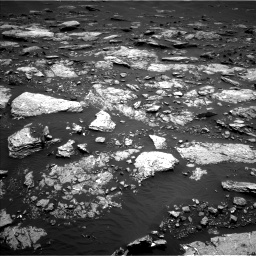 Nasa's Mars rover Curiosity acquired this image using its Left Navigation Camera on Sol 1664, at drive 684, site number 62