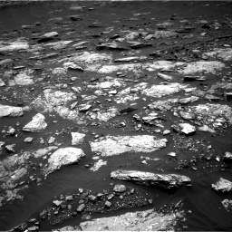 Nasa's Mars rover Curiosity acquired this image using its Right Navigation Camera on Sol 1664, at drive 678, site number 62