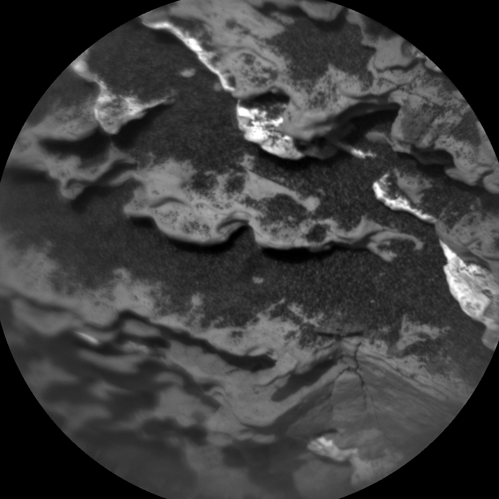 Nasa's Mars rover Curiosity acquired this image using its Chemistry & Camera (ChemCam) on Sol 1664, at drive 660, site number 62