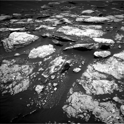 Nasa's Mars rover Curiosity acquired this image using its Left Navigation Camera on Sol 1666, at drive 762, site number 62