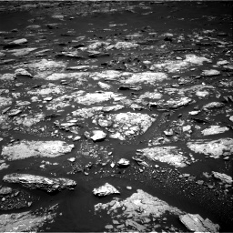 Nasa's Mars rover Curiosity acquired this image using its Right Navigation Camera on Sol 1666, at drive 702, site number 62