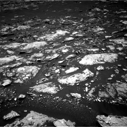 Nasa's Mars rover Curiosity acquired this image using its Right Navigation Camera on Sol 1666, at drive 708, site number 62