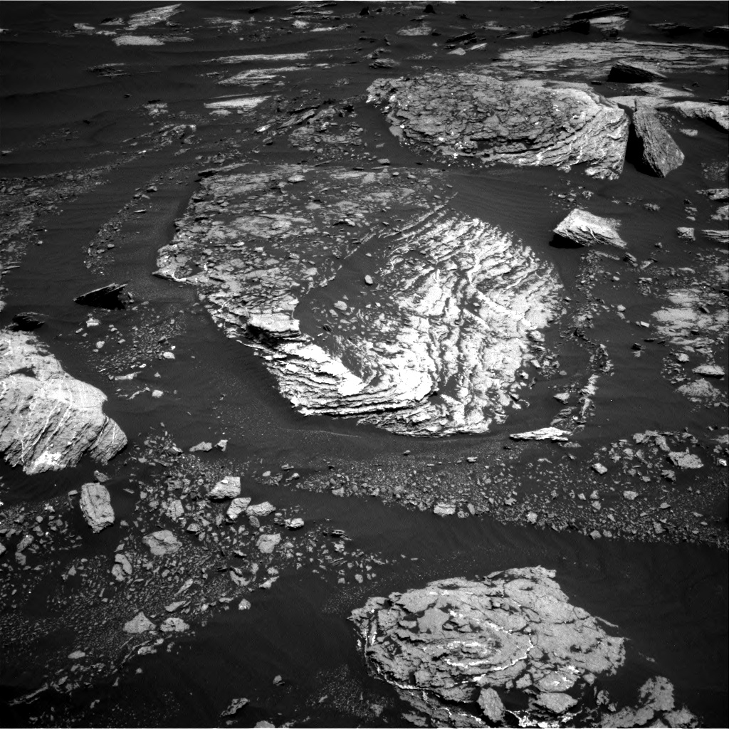 Nasa's Mars rover Curiosity acquired this image using its Right Navigation Camera on Sol 1666, at drive 750, site number 62