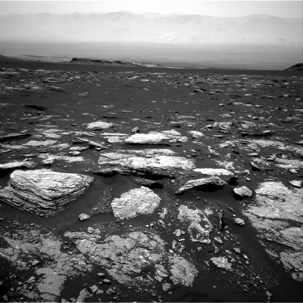 Nasa's Mars rover Curiosity acquired this image using its Right Navigation Camera on Sol 1666, at drive 786, site number 62