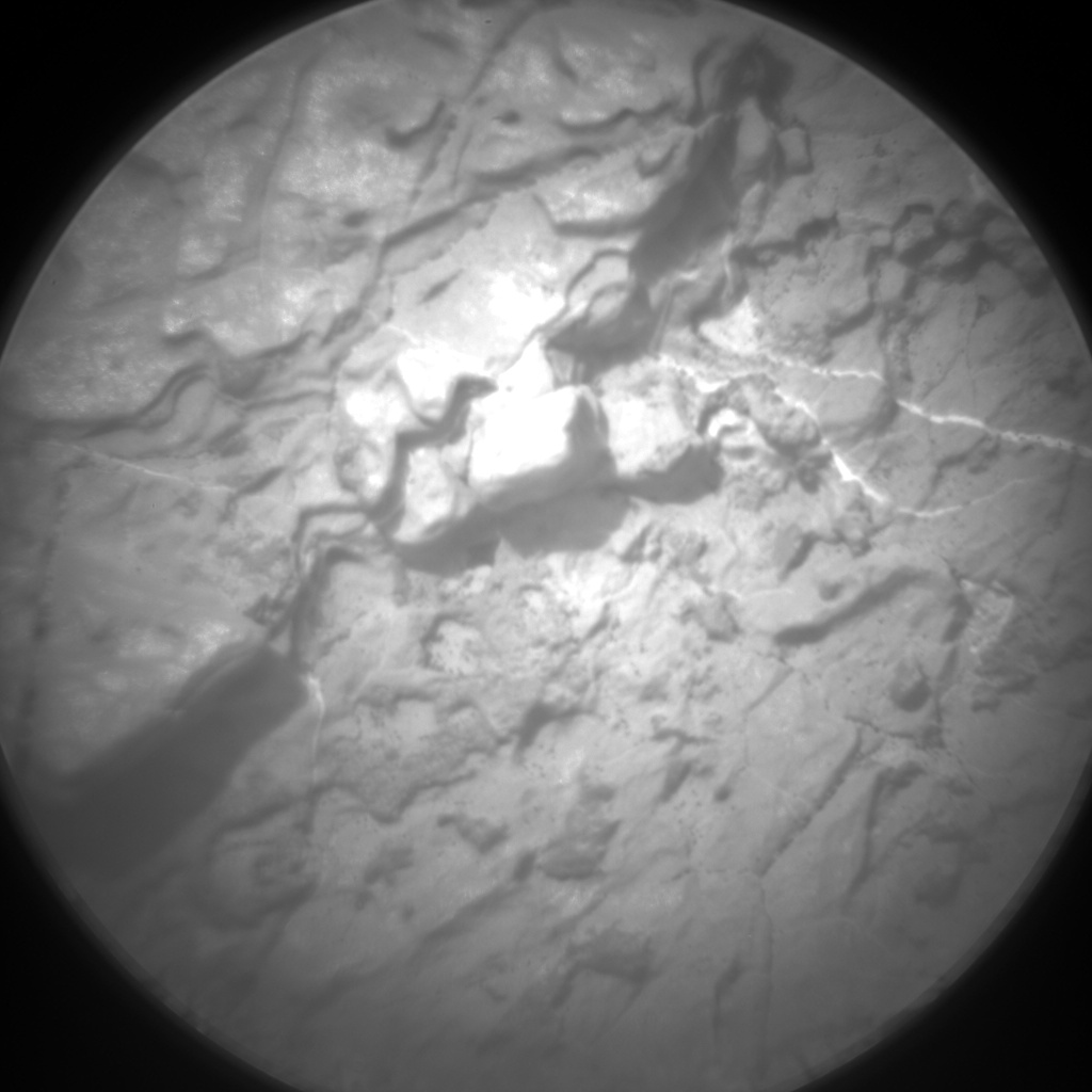 Nasa's Mars rover Curiosity acquired this image using its Chemistry & Camera (ChemCam) on Sol 1668, at drive 786, site number 62