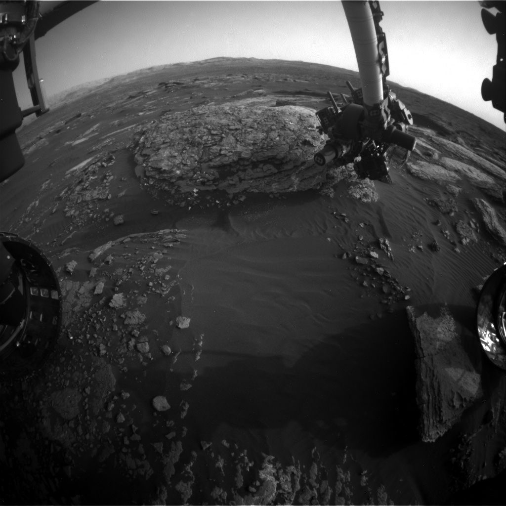 NASA's Mars rover Curiosity acquired this image using its Front Hazard Avoidance Cameras (Front Hazcams) on Sol 1668