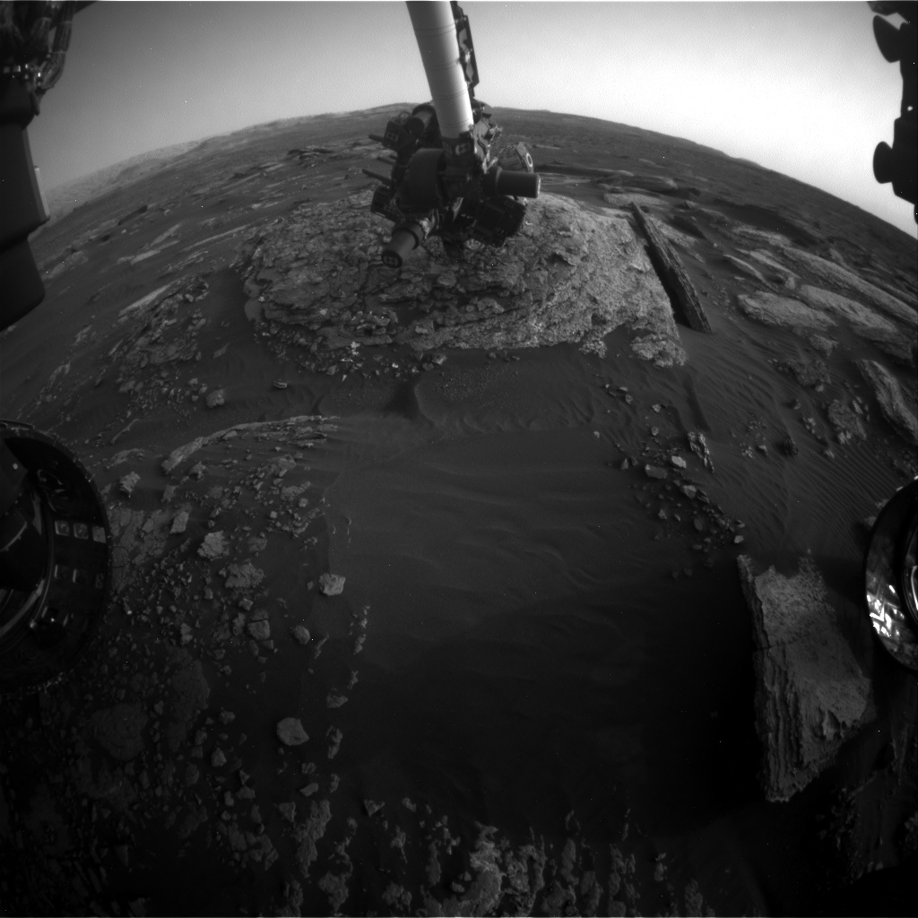 Nasa's Mars rover Curiosity acquired this image using its Front Hazard Avoidance Camera (Front Hazcam) on Sol 1668, at drive 786, site number 62