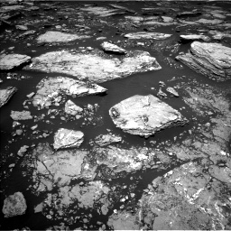Nasa's Mars rover Curiosity acquired this image using its Left Navigation Camera on Sol 1669, at drive 786, site number 62