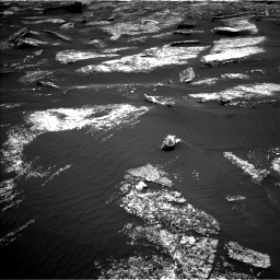 Nasa's Mars rover Curiosity acquired this image using its Left Navigation Camera on Sol 1669, at drive 984, site number 62