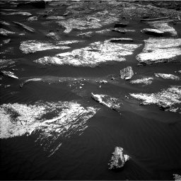 Nasa's Mars rover Curiosity acquired this image using its Left Navigation Camera on Sol 1669, at drive 996, site number 62
