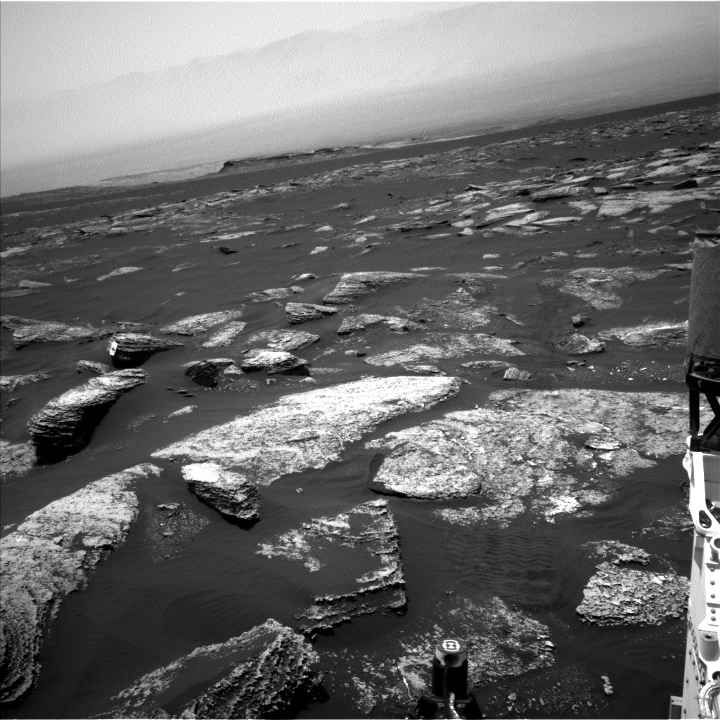 NASA's Mars rover Curiosity acquired this image using its Left Navigation Camera (Navcams) on Sol 1669