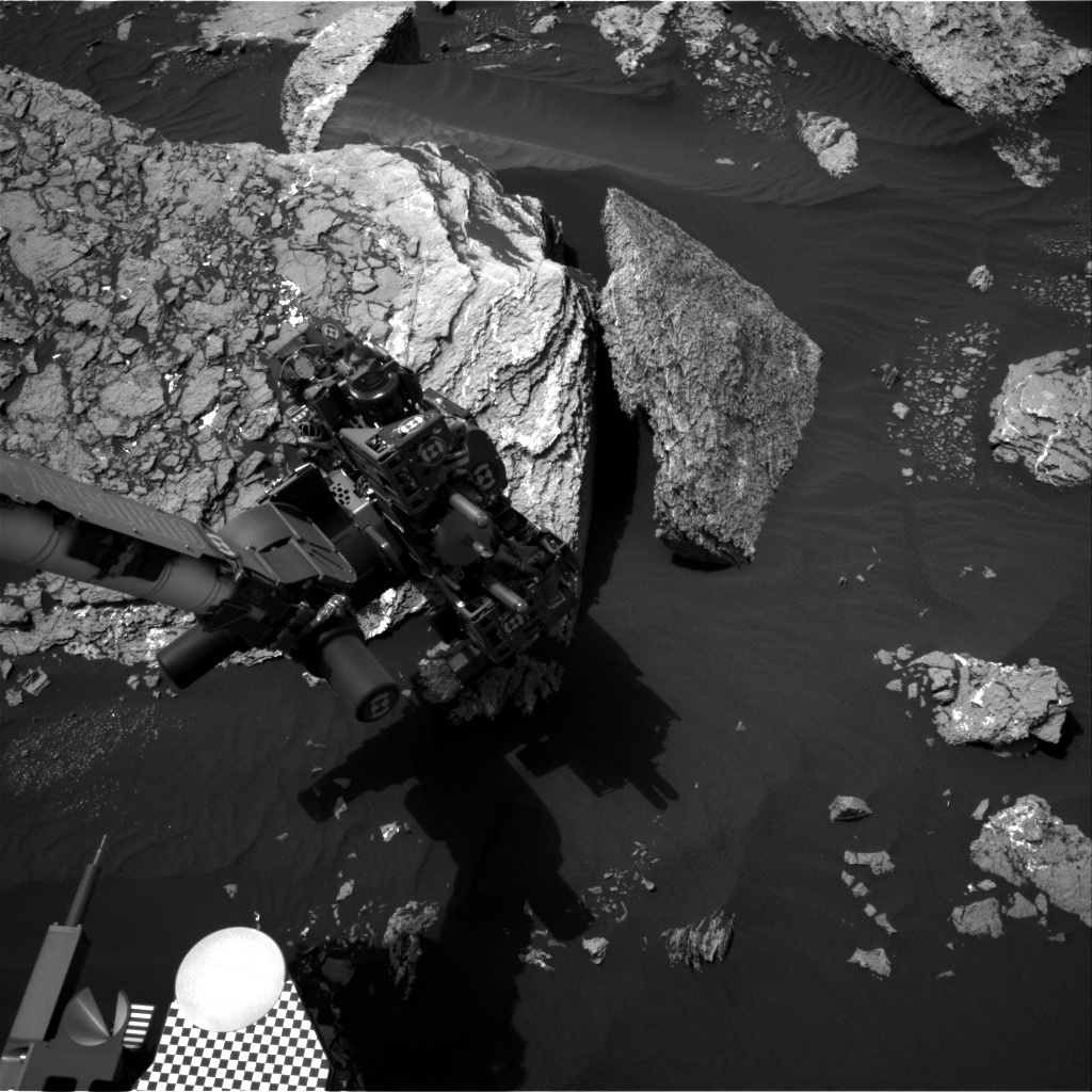 Nasa's Mars rover Curiosity acquired this image using its Right Navigation Camera on Sol 1669, at drive 786, site number 62