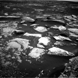 Nasa's Mars rover Curiosity acquired this image using its Right Navigation Camera on Sol 1669, at drive 852, site number 62