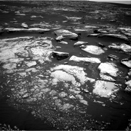 Nasa's Mars rover Curiosity acquired this image using its Right Navigation Camera on Sol 1669, at drive 858, site number 62