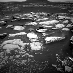 Nasa's Mars rover Curiosity acquired this image using its Right Navigation Camera on Sol 1669, at drive 882, site number 62