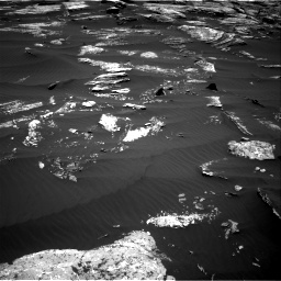 Nasa's Mars rover Curiosity acquired this image using its Right Navigation Camera on Sol 1669, at drive 888, site number 62