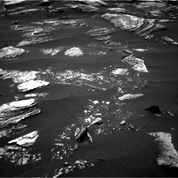 Nasa's Mars rover Curiosity acquired this image using its Right Navigation Camera on Sol 1669, at drive 918, site number 62