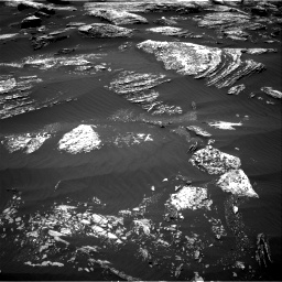 Nasa's Mars rover Curiosity acquired this image using its Right Navigation Camera on Sol 1669, at drive 936, site number 62