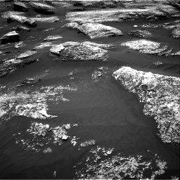 Nasa's Mars rover Curiosity acquired this image using its Right Navigation Camera on Sol 1669, at drive 966, site number 62