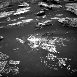 Nasa's Mars rover Curiosity acquired this image using its Right Navigation Camera on Sol 1669, at drive 972, site number 62