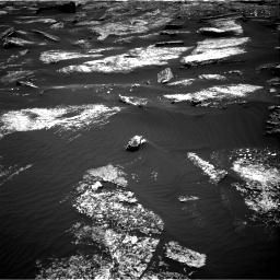 Nasa's Mars rover Curiosity acquired this image using its Right Navigation Camera on Sol 1669, at drive 984, site number 62