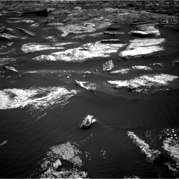 Nasa's Mars rover Curiosity acquired this image using its Right Navigation Camera on Sol 1669, at drive 990, site number 62