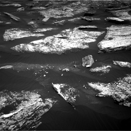 Nasa's Mars rover Curiosity acquired this image using its Right Navigation Camera on Sol 1669, at drive 1002, site number 62