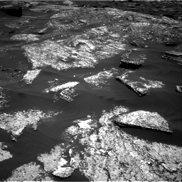 Nasa's Mars rover Curiosity acquired this image using its Right Navigation Camera on Sol 1669, at drive 1026, site number 62