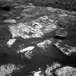 Nasa's Mars rover Curiosity acquired this image using its Right Navigation Camera on Sol 1669, at drive 1032, site number 62
