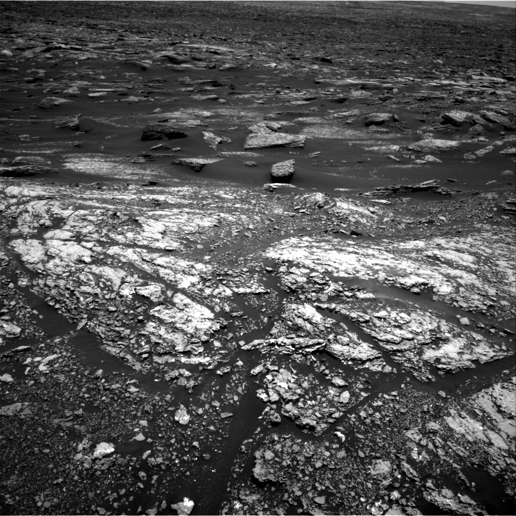 Nasa's Mars rover Curiosity acquired this image using its Right Navigation Camera on Sol 1669, at drive 1080, site number 62