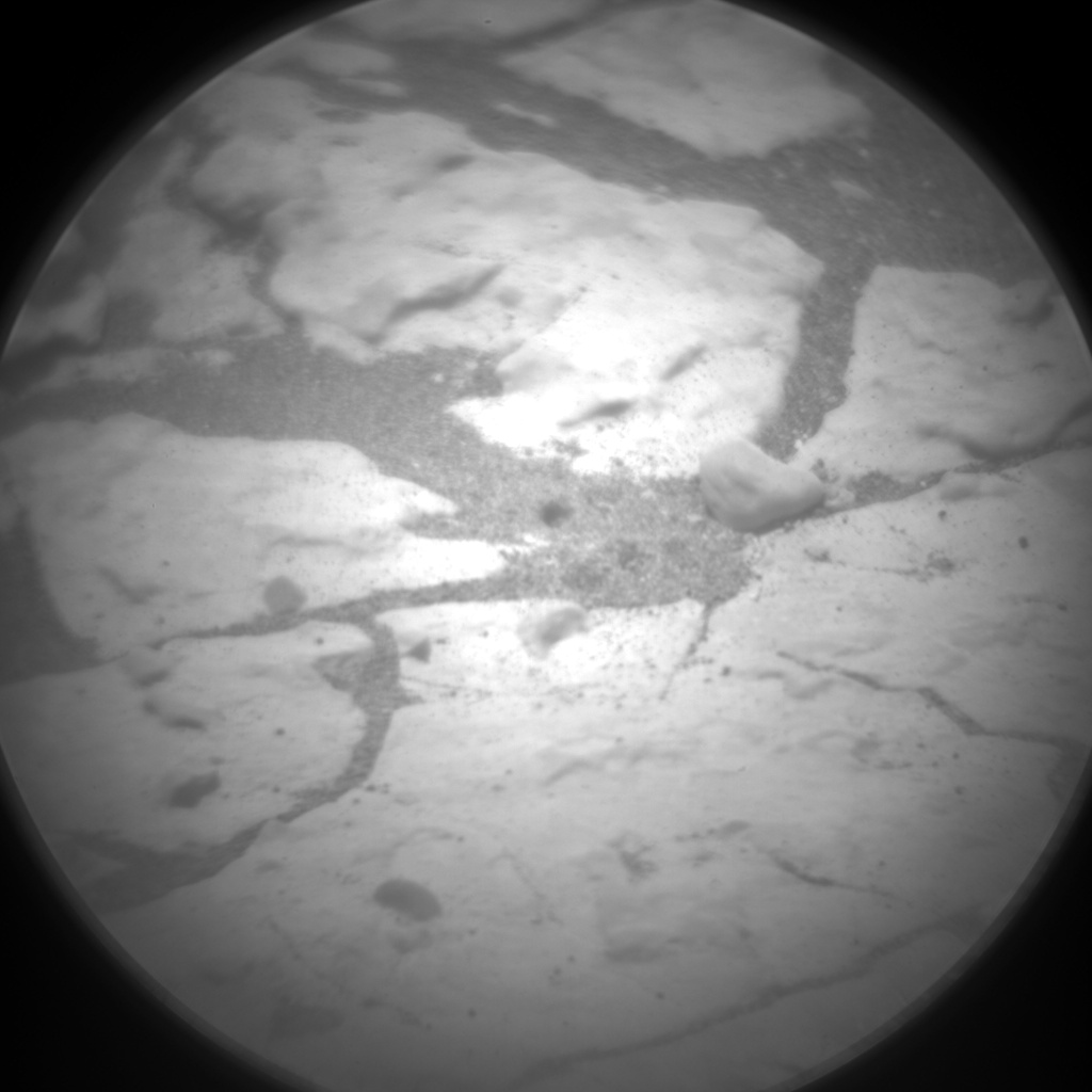 Nasa's Mars rover Curiosity acquired this image using its Chemistry & Camera (ChemCam) on Sol 1670, at drive 1080, site number 62