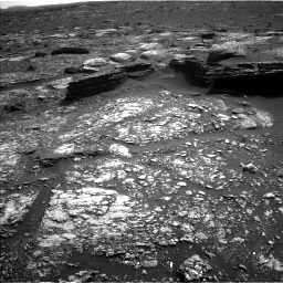 Nasa's Mars rover Curiosity acquired this image using its Left Navigation Camera on Sol 1671, at drive 1092, site number 62