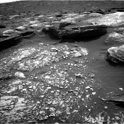 Nasa's Mars rover Curiosity acquired this image using its Left Navigation Camera on Sol 1671, at drive 1098, site number 62