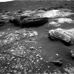 Nasa's Mars rover Curiosity acquired this image using its Left Navigation Camera on Sol 1671, at drive 1104, site number 62