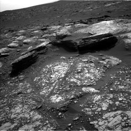 Nasa's Mars rover Curiosity acquired this image using its Left Navigation Camera on Sol 1671, at drive 1128, site number 62