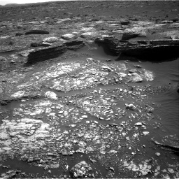 Nasa's Mars rover Curiosity acquired this image using its Right Navigation Camera on Sol 1671, at drive 1092, site number 62