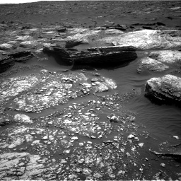 Nasa's Mars rover Curiosity acquired this image using its Right Navigation Camera on Sol 1671, at drive 1110, site number 62