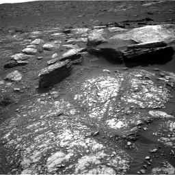 Nasa's Mars rover Curiosity acquired this image using its Right Navigation Camera on Sol 1671, at drive 1134, site number 62