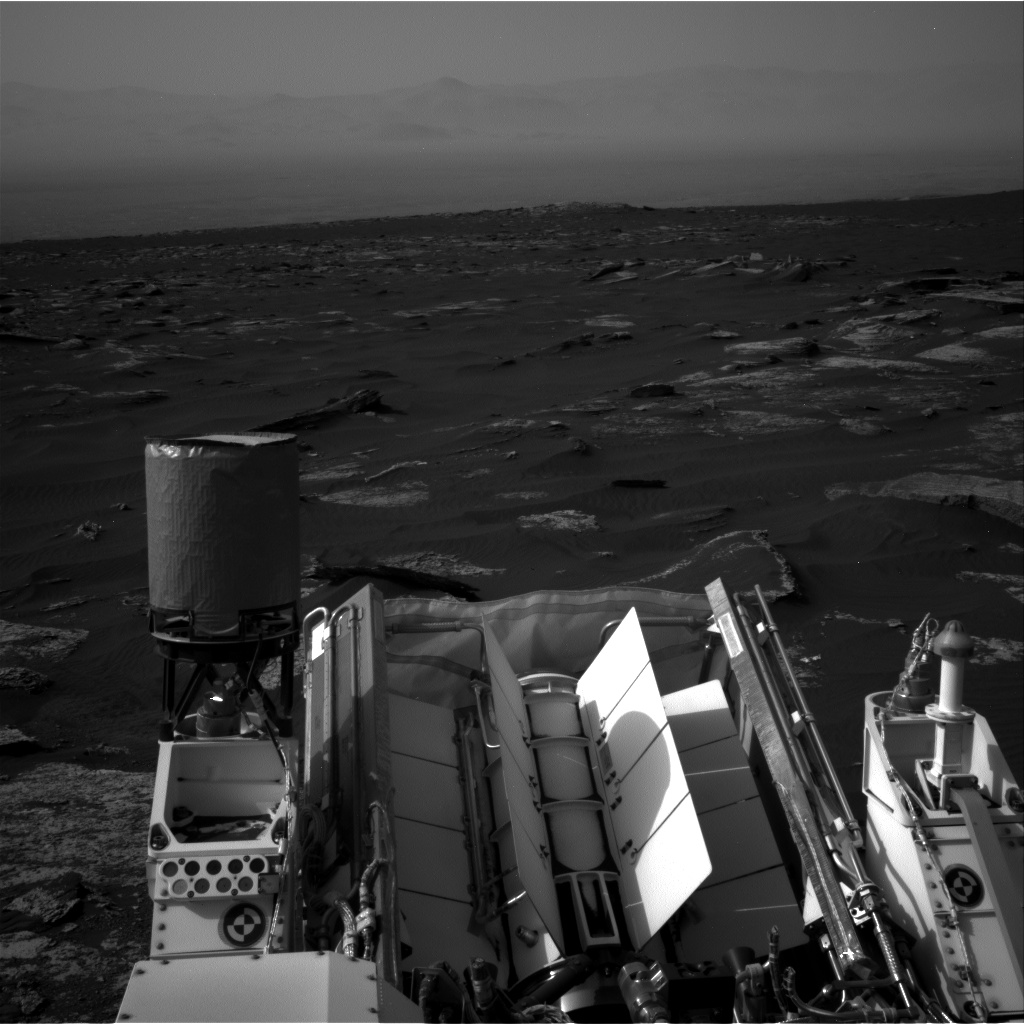 Nasa's Mars rover Curiosity acquired this image using its Right Navigation Camera on Sol 1671, at drive 1140, site number 62