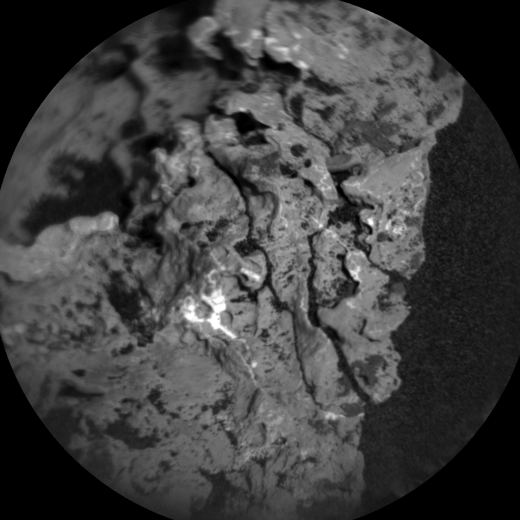 Nasa's Mars rover Curiosity acquired this image using its Chemistry & Camera (ChemCam) on Sol 1671, at drive 1080, site number 62