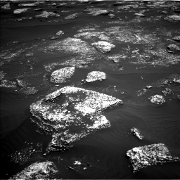 Nasa's Mars rover Curiosity acquired this image using its Left Navigation Camera on Sol 1672, at drive 1188, site number 62