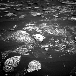 Nasa's Mars rover Curiosity acquired this image using its Left Navigation Camera on Sol 1672, at drive 1200, site number 62