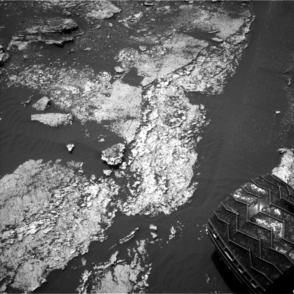 NASA's Mars rover Curiosity acquired this image using its Left Navigation Camera (Navcams) on Sol 1672