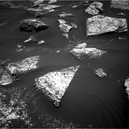 Nasa's Mars rover Curiosity acquired this image using its Right Navigation Camera on Sol 1672, at drive 1164, site number 62