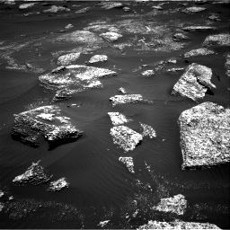 Nasa's Mars rover Curiosity acquired this image using its Right Navigation Camera on Sol 1672, at drive 1176, site number 62