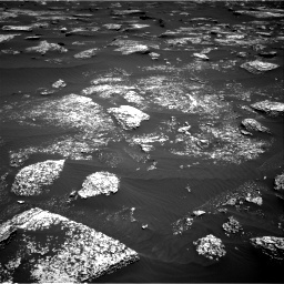 NASA's Mars rover Curiosity acquired this image using its Right Navigation Cameras (Navcams) on Sol 1672
